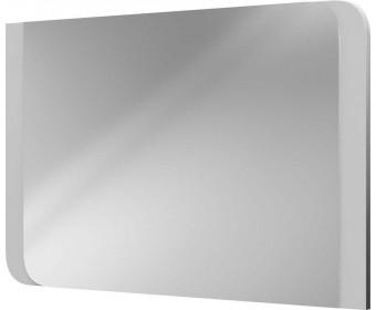 Зеркало навесное Вива Белый/Белый глянец, Платина