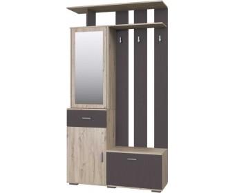 Шкаф модуль 1 Имидж Дуб Бонифаций/Вольфрам