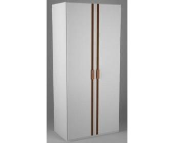 Шкаф №3 с зеркалом Кантри Лак-Слоновая кость