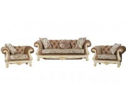 Комплект мебели Ассоль крем (ткань крем)