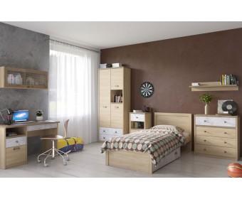 Детская комната D2 Дизель (дуб мадура/энигма)