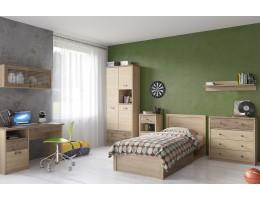 Детская комната Дизель Вариант 2 (дуб мадура/веллингтон)