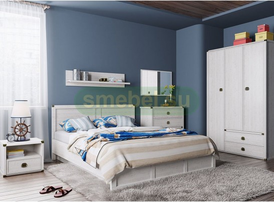 Спальный гарнитур Магеллан (сосна винтаж)