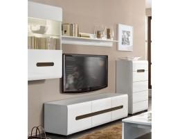 Мебель в гостиную AZTECA, белый глянец