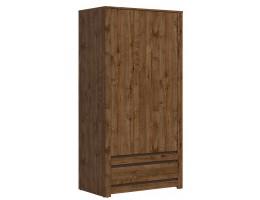 Шкаф для одежды S404-SZF2D1S KADA, дуб April