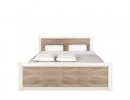 Кровать без основанием LOZ 140*200_2 КОЕН, ясень снежный/сосна натуральная