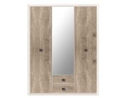 Шкаф с зеркалом SZF3D2S КОЕН