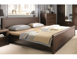 Кровать c основанием LOZ 140*200_2 КОЕН, венге