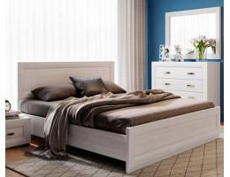 Кровать без основания B136-LOZ 140х200 MALTA, лиственница сибирская/орех лион
