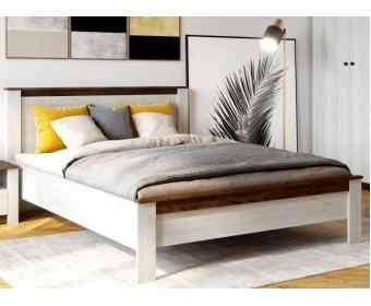 Кровать 160х200 Даллас, дуб винтерберг/таксония