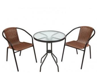 Комплект кофейный Bistro 210171 (стол и 2 кресла)