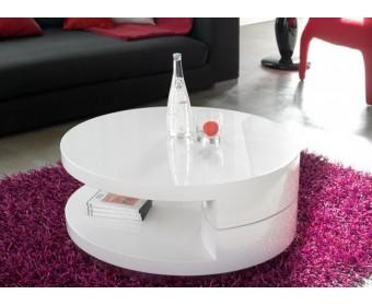 Журнальный раскладной стол Dupen CT-042 белый