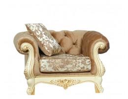 Кресло Ассоль, крем (ткань беж)
