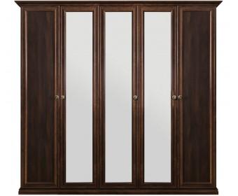 """Шкаф 5-ти ств (2+1+2) с зеркалом """"Афина"""" караваджо"""