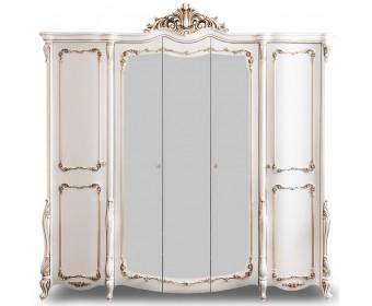 Шкаф 5-створчатый Анна Мария, белый