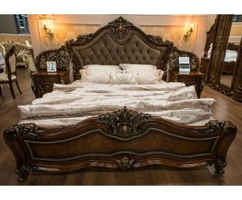 Кровать двуспальная Джоконда (корень дуба)