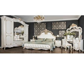 Спальный гарнитур Флоренция, белый