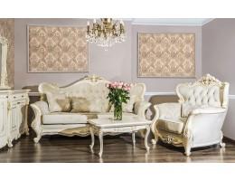 Комплект мягкой мебели Джоконда, крем