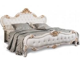 Кровать двуспальная с мягким изголовьем Натали 160