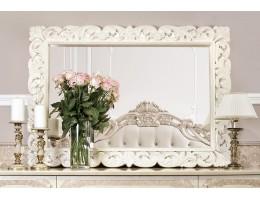 Зеркало большое Патрисия крем глянец