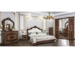 Спальный гарнитур Патрисия орех караваджо глянец