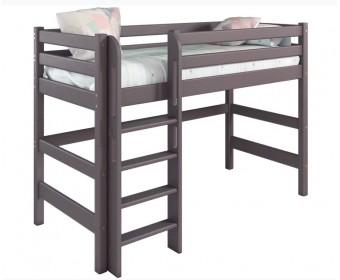 """Полувысокая кровать """"Соня"""" Вариант 5 (с прямой лестницей)"""