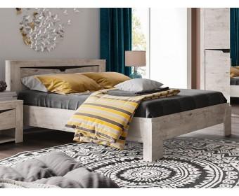 Кровать Соренто (дуб бонифаций)