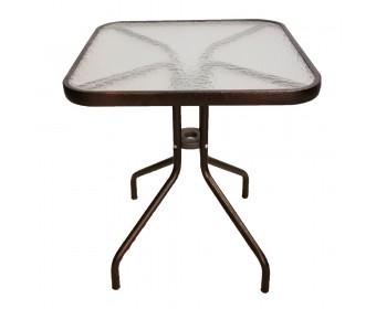 Стол квадратный без оплетения CAFE4