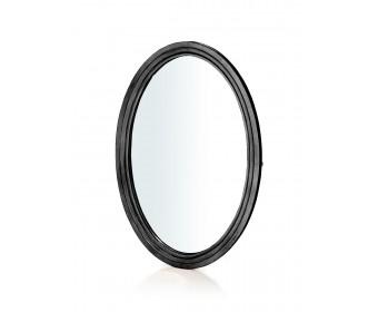 Зеркало овальное ST9133N (черный сапфир)