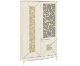 Комбинированный шкаф с витриной Гармония МН-120-10