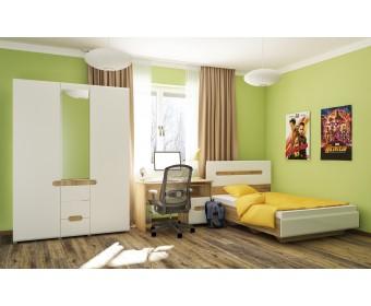 Детская мебель Леонардо МН-026-2, белый