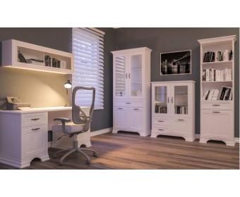 Мебель для рабочего кабинета Юнона МН-132, белый