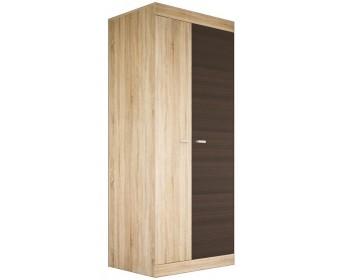 Шкаф для одежды Веста МН-130-01, дуб сонома/дуб ниагара