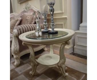 Столик чайный 8803 Fiore Bianco, ivory