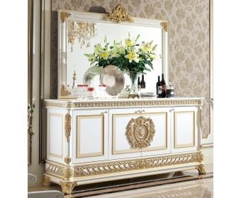 Буфет Е62 Монарх, white gold