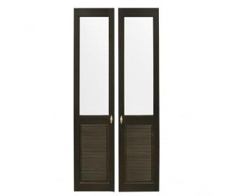 Комплект дверей к стеллажу Рауна-20 (колониал)
