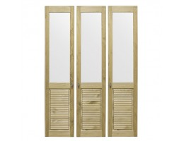 Комплект дверей к стеллажу Рауна-30 (бейц/масло)