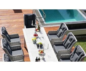 Комплект дачной мебели ТОСКАНА+ кресла Верона