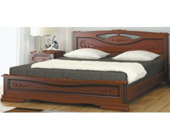 Кровать Bravo ЕЛЕНА-3 Орех