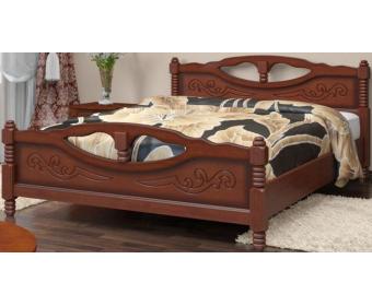 Кровать Bravo ЕЛЕНА-4 Орех